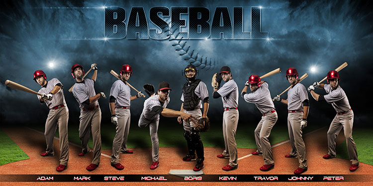 baseball banners templates