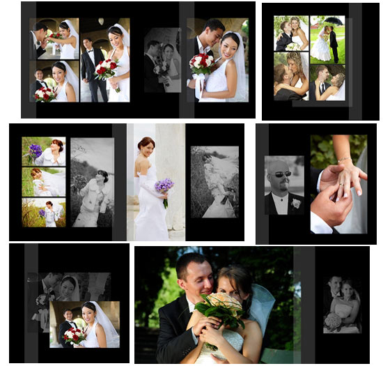 Wedding Album Photoshop Templates  Free Album Templates