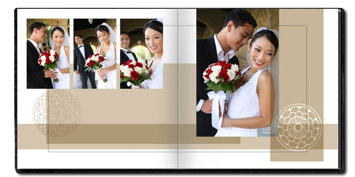 decorative wedding album designs arc4studio