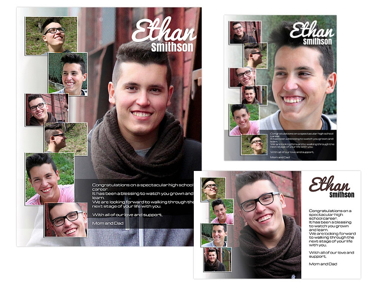 seniors ads yearbook templates ethan arc4studio photoshop templates for photographers. Black Bedroom Furniture Sets. Home Design Ideas