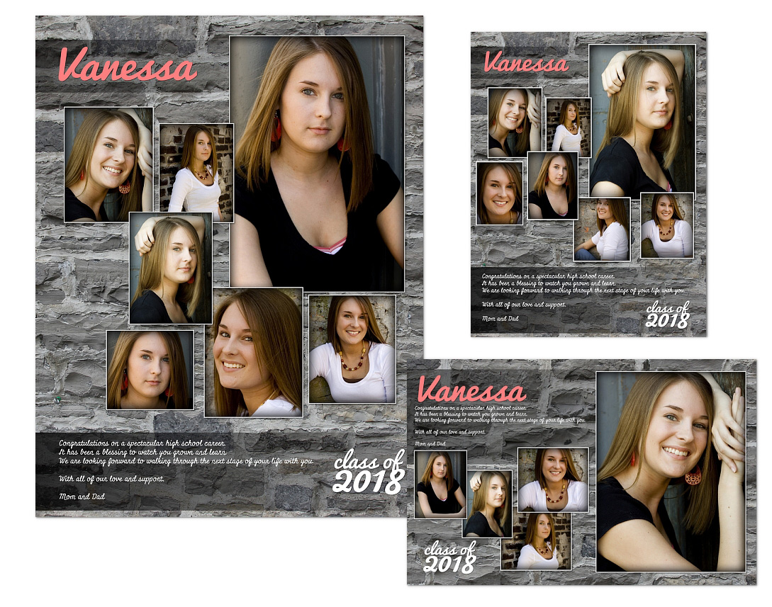 Yearbook Ads Templates
