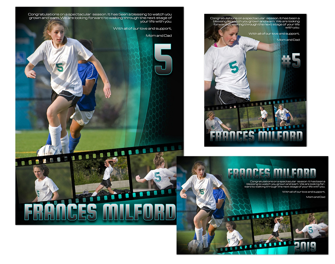 Sports Program Ads Templates 01 1499 Arc4studio Photoshop
