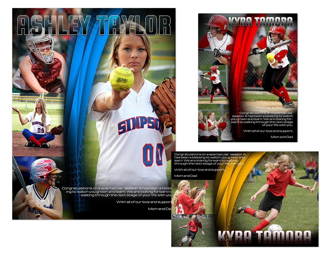Sports Program Ads Templates 03 1499 Arc4studio Photoshop