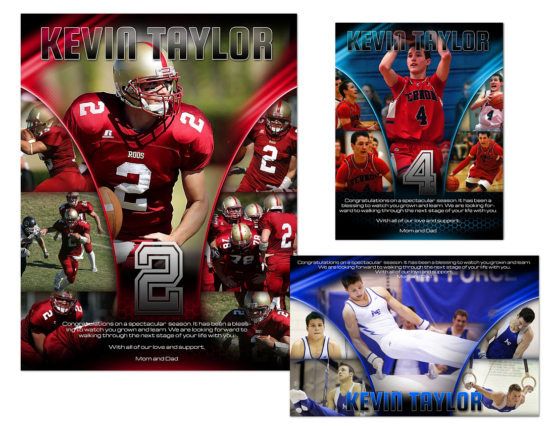 Sports Program Ads Templates 04 1499 Arc4studio Photoshop