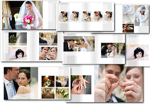 Wedding Album Templates PSD | arc4Studio