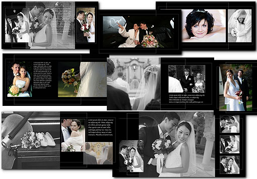 12x12 wedding album templates psd arc4studio for Wedding photo album templates in photoshop