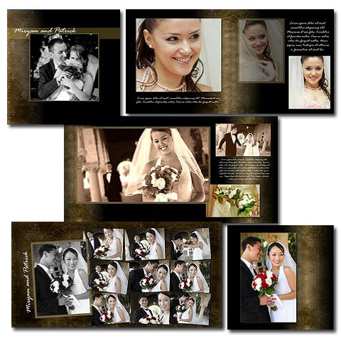 Wedding album templates for photoshop arc4studio for Wedding photo album templates in photoshop
