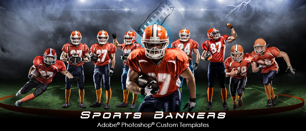 Arc4studio photoshop templates for photographers for Sports team photography templates