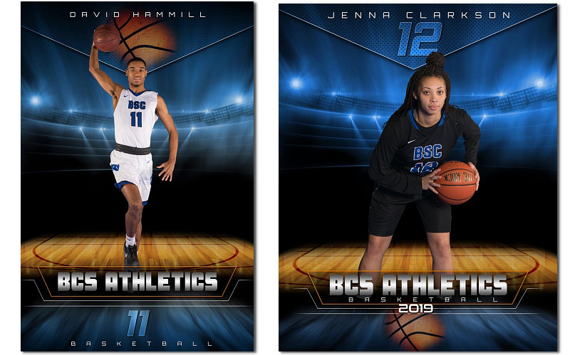 Basketball Epic 44 99 Arc4studio Photoshop Templates For