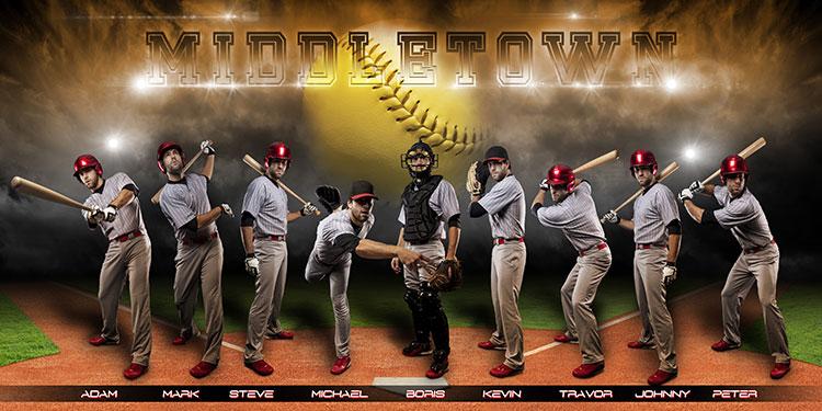 Softball banner template maniacs softball team banners.