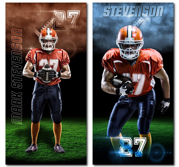 Football Vertical Banners